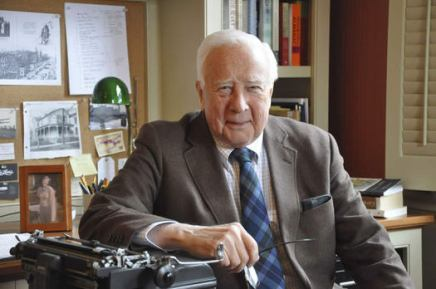 David McCullough to discuss his work, receive Archives award