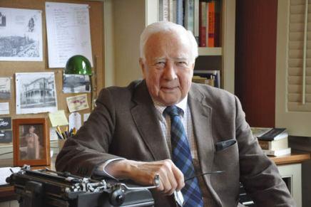 David McCullough to discuss his work, receive Archivesaward