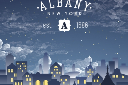Albany at Night